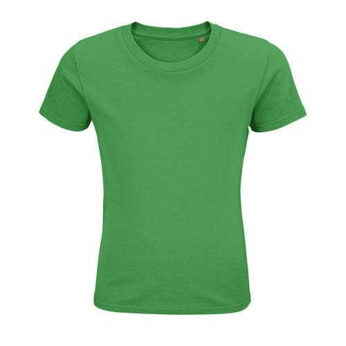 Tee-shirt personnalisable enfant coton organique bio VERT PRAIRIE