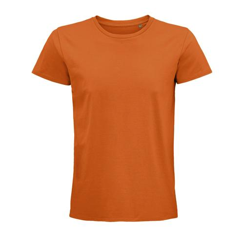 Tee-shirt coton organique bio ORANGE
