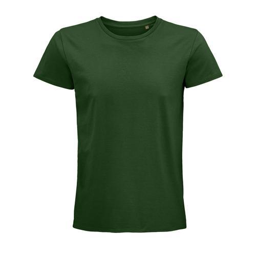 Tee-shirt coton organique bio VERT BOUTEILLE