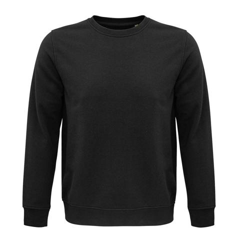 Sweat coton organique bio GRIS ANTHRACITE