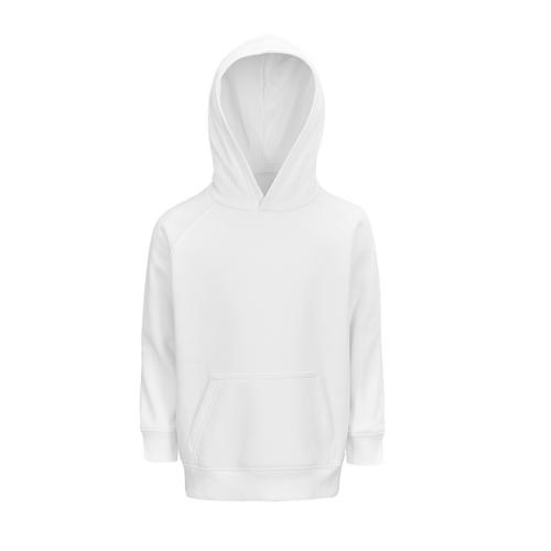 Sweat enfant coton organique bio BLANC