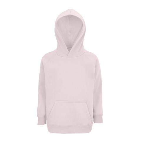 Sweat enfant coton organique bio ROSE PÂLE