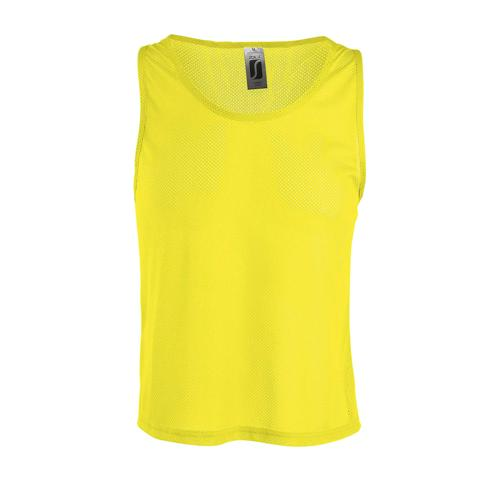 Chasuble personnalisable polyester CITRON