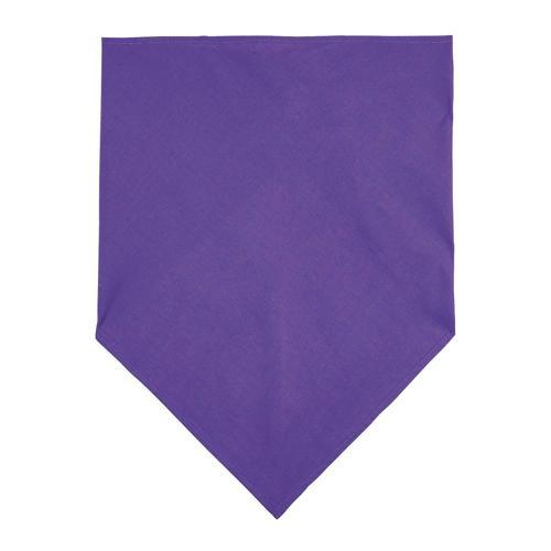 Foulard bandana en polyester VIOLET FONCE