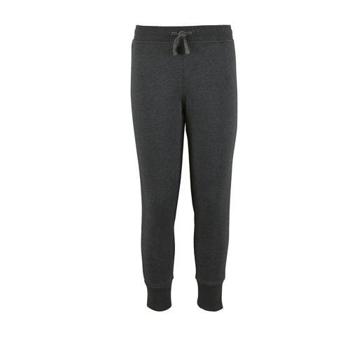 Pantalon de jogging enfant en coton ANTHRACITE CHIN
