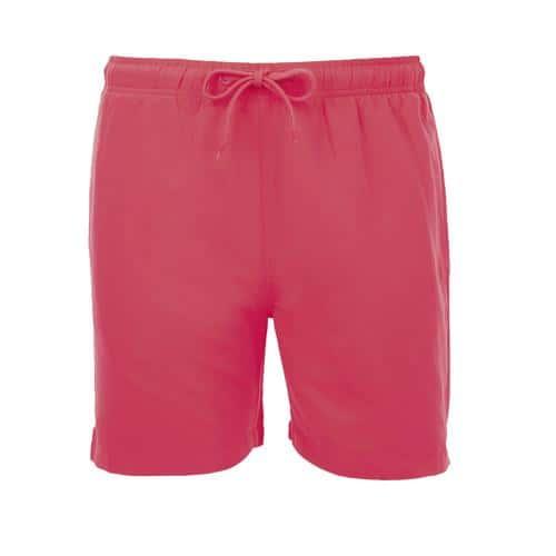 Short de bain homme en polyester CORAIL FLUO