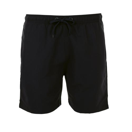 Short personnalisable de bain homme en polyester NOIR