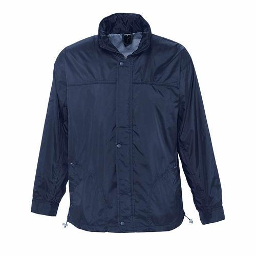 Coupe-vent doublé jersey en nylon MARINE