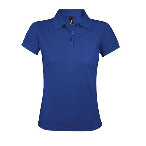 Polo personnalisable femme prime en polyester ROYAL