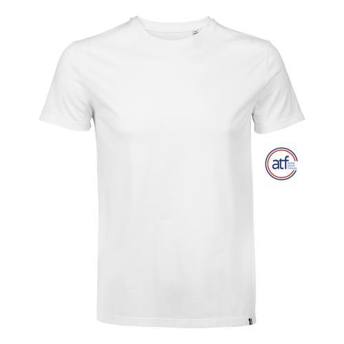 Tee-shirt homme en coton BLANC