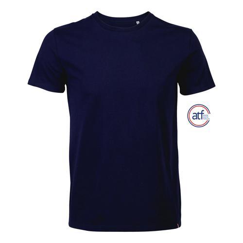 Tee-shirt personnalisable homme en cotonMARINE