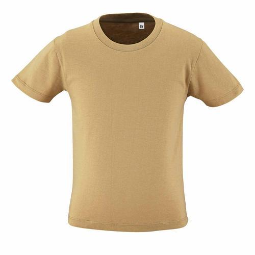 Tee-shirt personnalisable enfant en coton organique bio SABLE