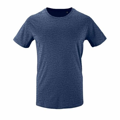 Tee-shirt personnalisable homme en coton organique bio DENIM CHINE