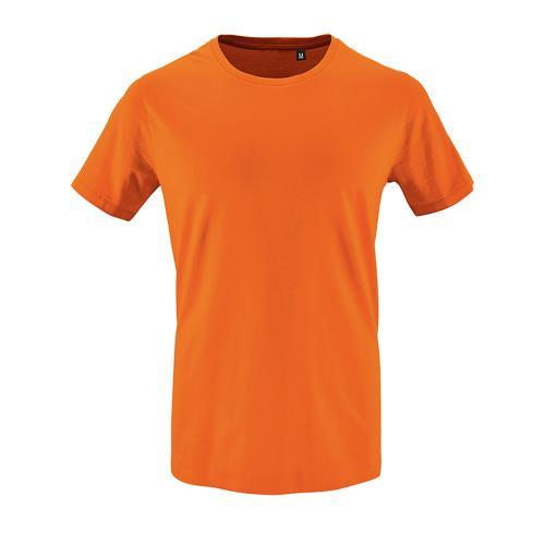 Tee-shirt homme en coton organique bio ORANGE