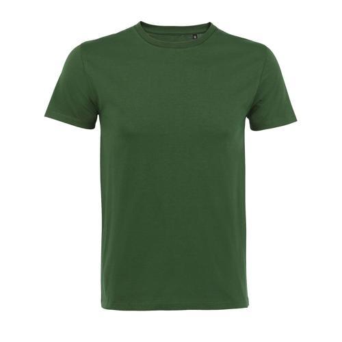 Tee-shirt homme en coton organique bio VERT BOUTEILLE