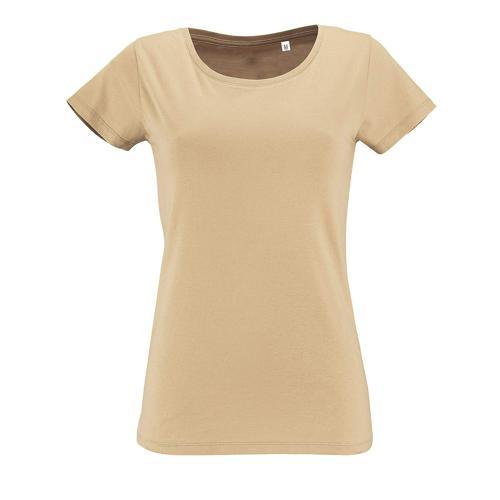 Tee-shirt femme en coton organique bio SABLE