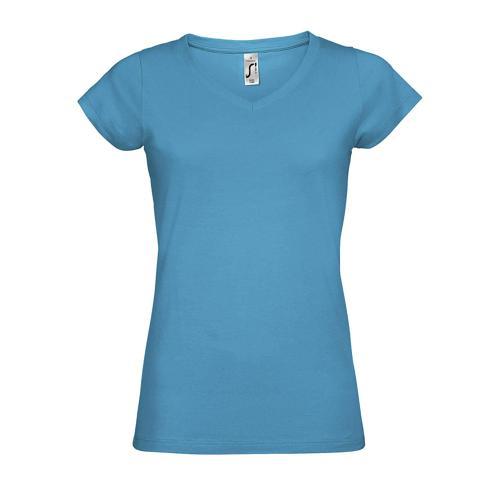 Tee-shirt femme en coton AQUA