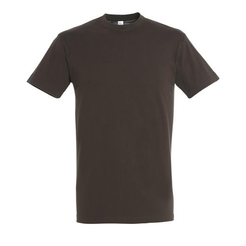 Tee-shirt homme en coton CHOCOLAT