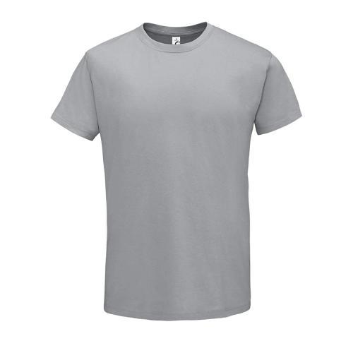 Tee-shirt personnalisable homme en coton GRIS PUR