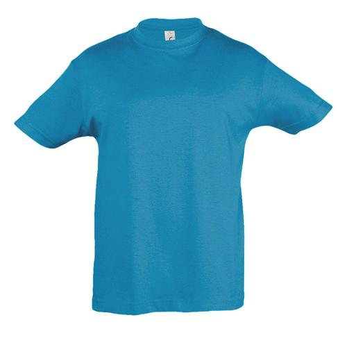 Tee-shirt personnalisable enfant en coton AQUA