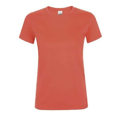 Tee-shirt personnalisable femme en coton CORAIL
