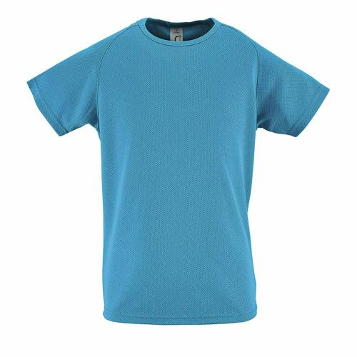 Tee-shirt personnalisable de sport enfant en polyester AQUA