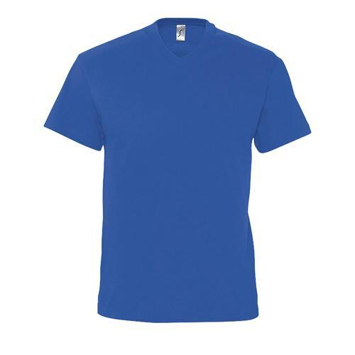 Tee-shirt col V en coton ROYAL