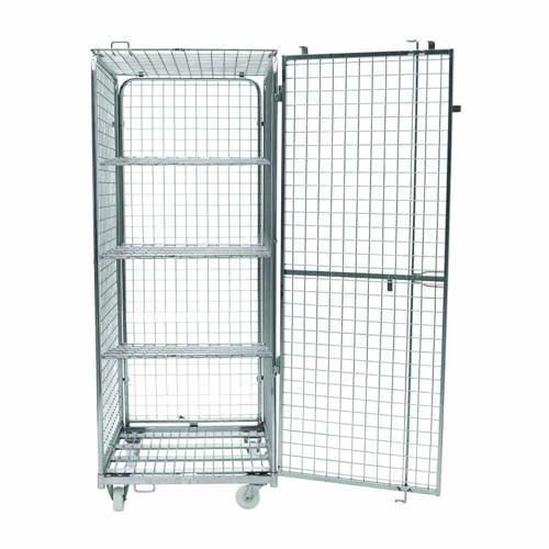 Roll-conteneur de sécurité - 3 étagères - Capacité 400 kg - Manutan
