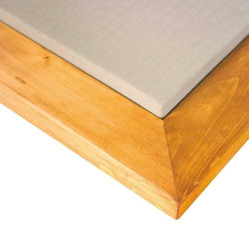 Angle de cadre en bois pour dojo (la pièce)