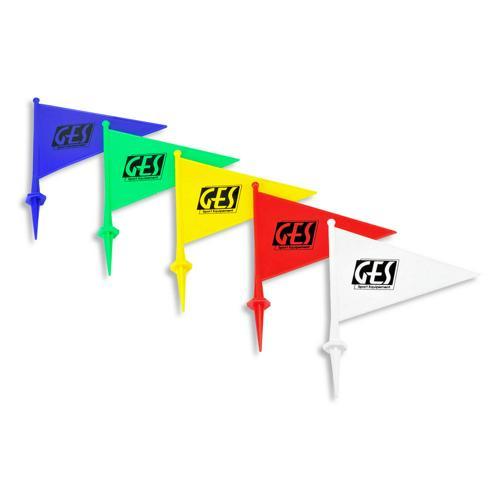 Lot de 5 drapeaux de marquage