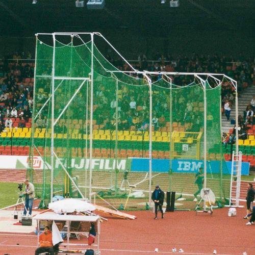 Filet de protection de cage de lancer de marteaux, hauteur 4,50 m