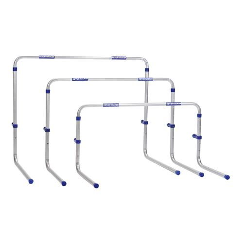 Lot de 3 haies aluminium return  midi 55-84cm