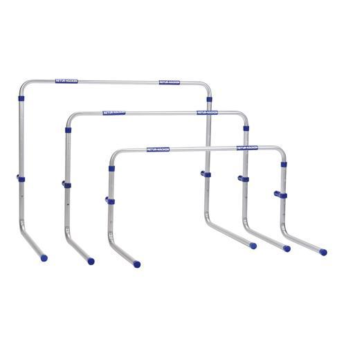 Lot de 3 haies aluminium return maxi 66-106cm