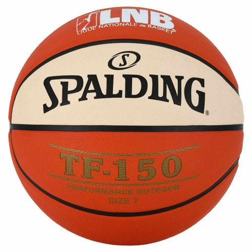 Ballon de Basket Spalding TF150 bicolore LNB outdoor