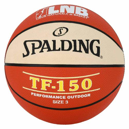 Ballon de Basket Spalding TF150 bicolore LNB outdoor