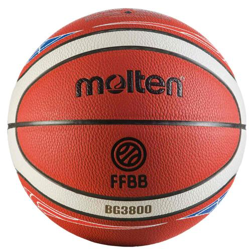 Ballon basket - Molten BG3800 FFBB FIBA taille 6