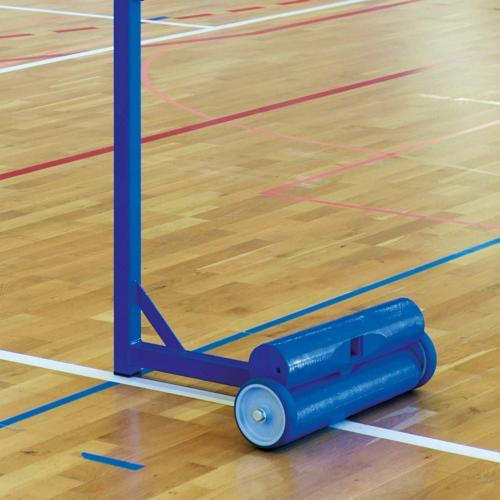 2 contre poids pour poteaux badminton - Metaluplast - 30kg