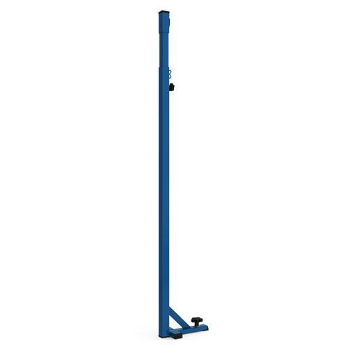 Poteaux de badminton pour compétition sur embase et fixation au sol / la paire