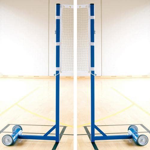 Ensemble poteaux/filet de badminton - Evolution 25