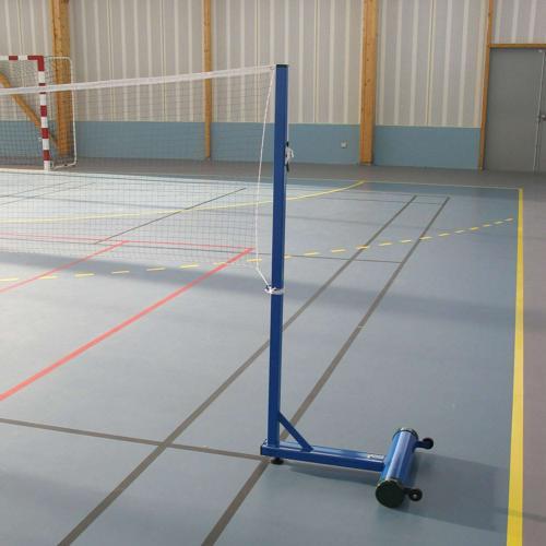 Paire de poteaux à lester Badminton Loisir