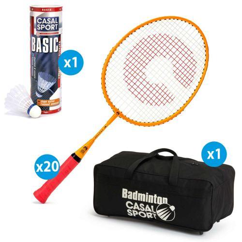 Lot de 20 raquettes Casal Sport Mini 3 + sac de rangement