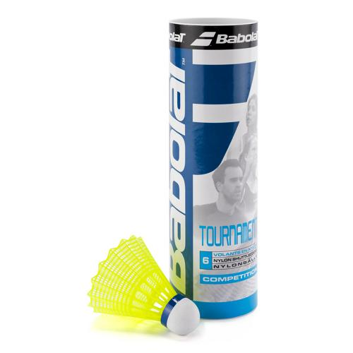 VOLANTS BADMINTON BABOLAT TOURNAMENT MEDIUM JAUNES