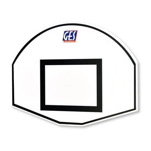 Panneau de basketball GES demi lune 120 x 90 cm