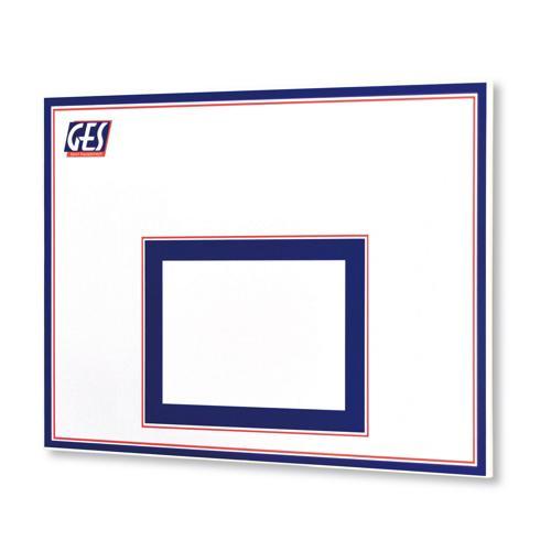 Panneau de basket GES 90 x 120 cm 2 couleurs