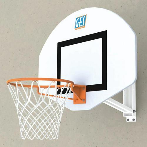 But de basketball mural hauteur réglable par vis GES