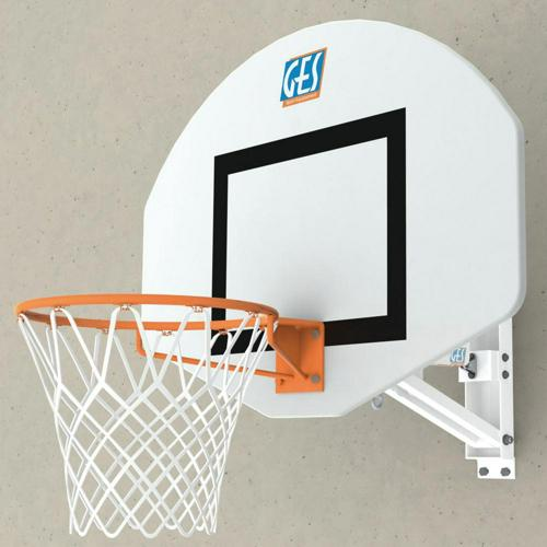 But de basket mural hauteur réglable par vérin GES