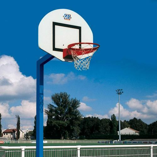 But de basket ball extérieur GES Denver hauteur 2. 6 m à sceller