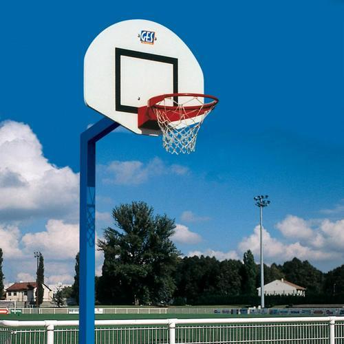 But de basket GES Denver acier galvanisé hauteur 3. 05 m à sceller