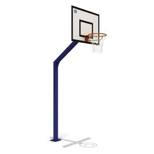 But de basket Atlanta 2.60m galvanisé et plastifié peint