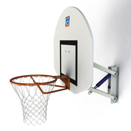 But de basket mural hauteur réglable
